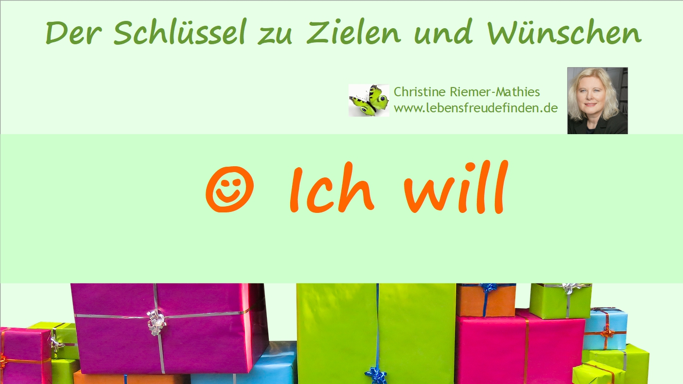 Ich will - Video - Christine Riemer-Mathies