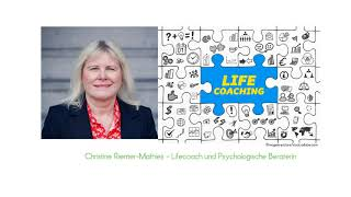 Was macht ein Lifecoach - Christine Riemer Mathies - Video YouTube